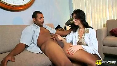 Lake Russel Hairy Pussy Interracial Anal