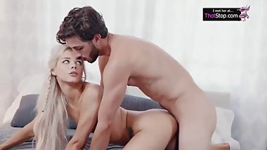 Tight Cunt Blonde Enjoys a Big Cock