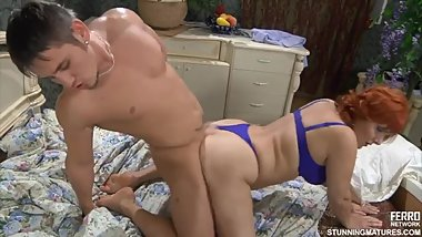 Viola M - Young son fucks stepmom while father sleeps nearby