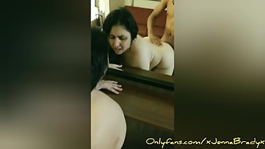 * TABOO * I let my stepson creampie me while his dad was in the next room