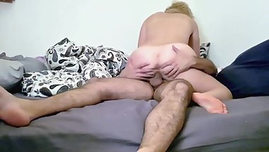 British Mom Swallows Sperm After Intense Sex With A Big Cock Part 2