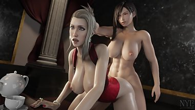 Final Fantasy Tifa and Scarlet