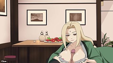 Naruto - Kunoichi Trainer - Part 20 - Tsunade Boobjob By LoveSkySanX