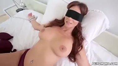 Blindfolded stepmom gets fucked hard by son United States