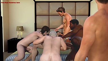 Hotwife Adventures:Hubby And His Wife In A Interracial Gangbang-Ep13