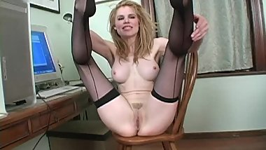Cuban foot stockings jerk off session - Candle Boxxx - JOI